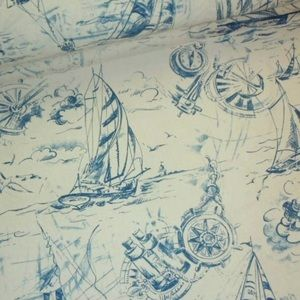 25 YDS BUNDLE Smooth Sailing Indigo Textile